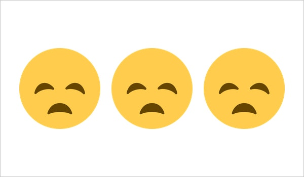 download sad face disappointed face on twitter twemoji