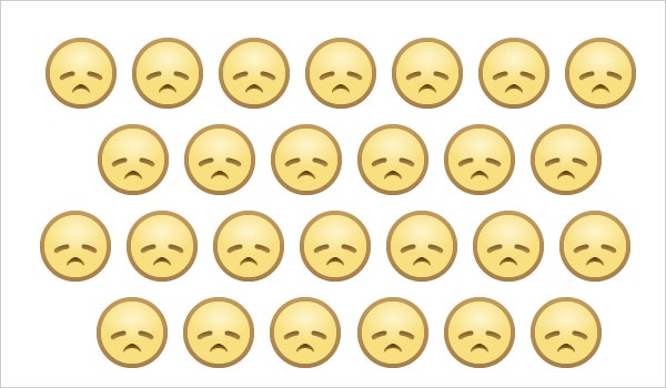 emoji of sad face for facebook website