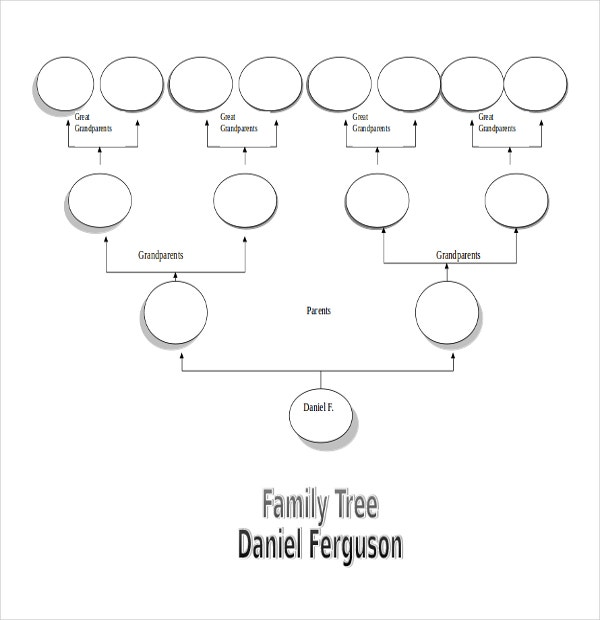 Simple Family Tree Template