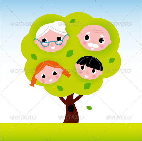 Kids Family Tree Template