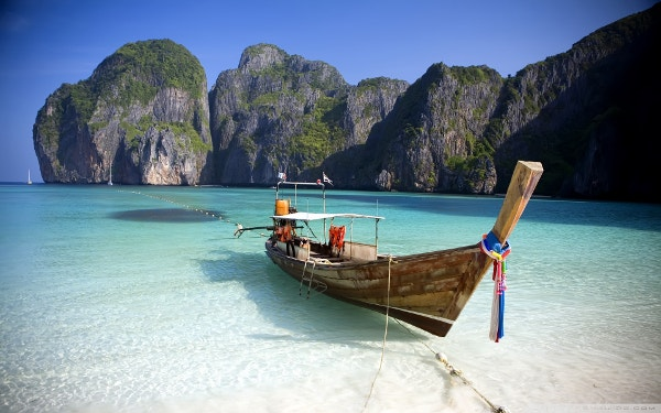 Thailand Beach Wallpaper Background for Laptop