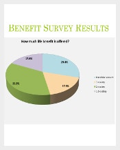 Benefit Survey Results Sample Format Template