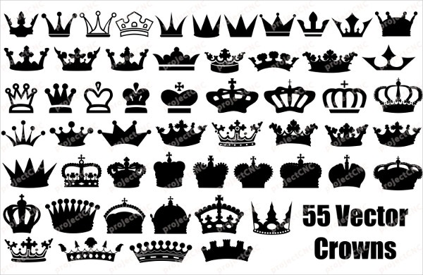 Middle Ages king Crown pattern