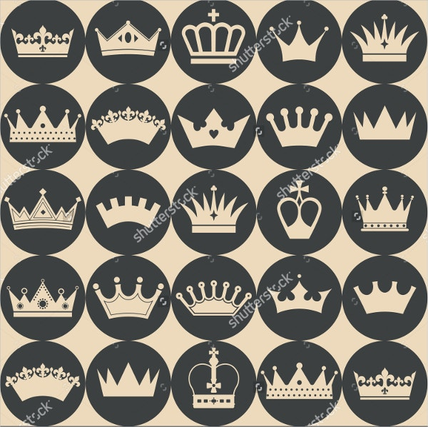 Seamless Crowns Pattern