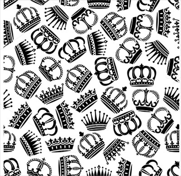 15 crown patterns free psd ai eps format download