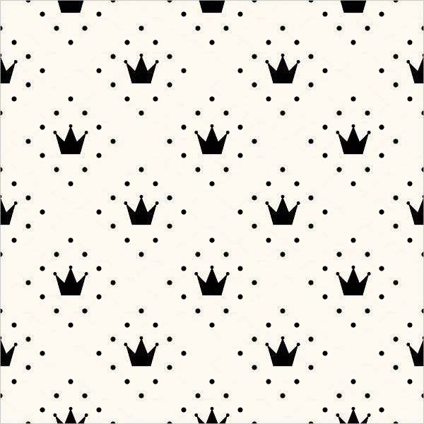 Monochrome Crown Patterns