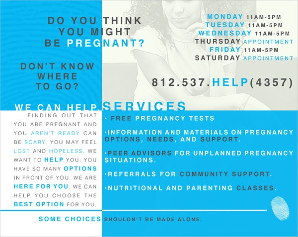 Pregnancy Care Centre Brochure