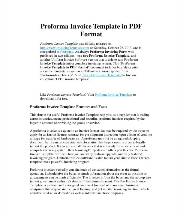 Proforma-Invoice-Template
