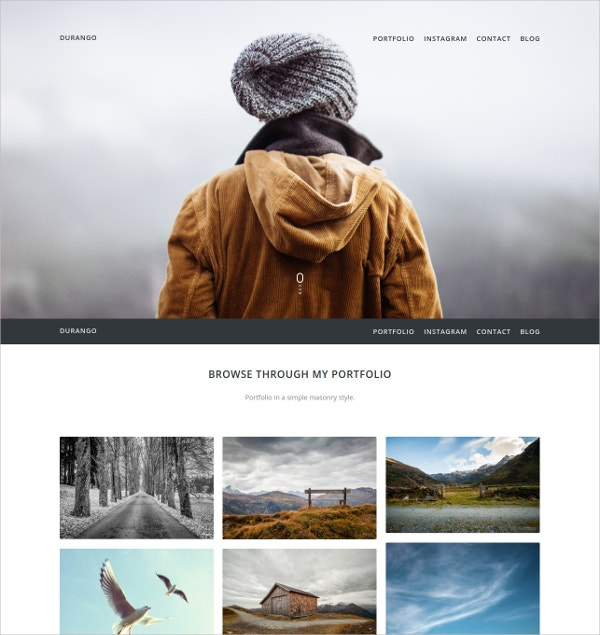 modern portfolio wordpress website theme 35