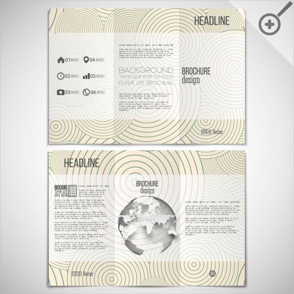 Blank Tri Fold Brochure Templates Free PSD AI Vector EPS - Blank tri fold brochure template free download