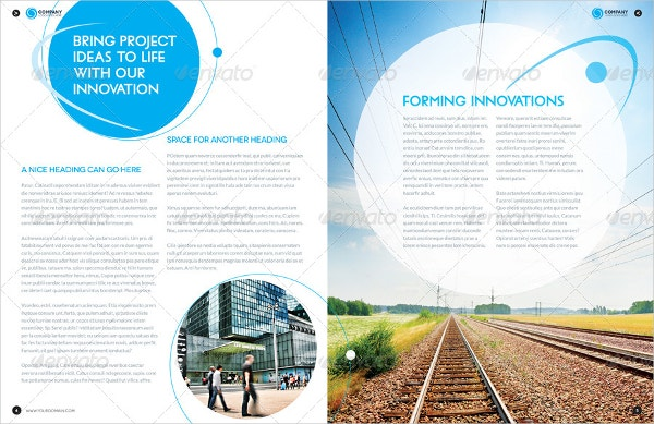 Brochure Layout Template Free PSD AI Vector EPS Format - 8 page brochure template