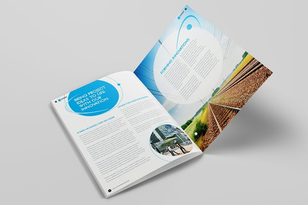 Brochure Layout Template Free PSD AI Vector EPS Format - Brochure template for indesign