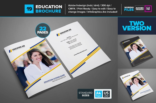 Educational Brochure Template 19