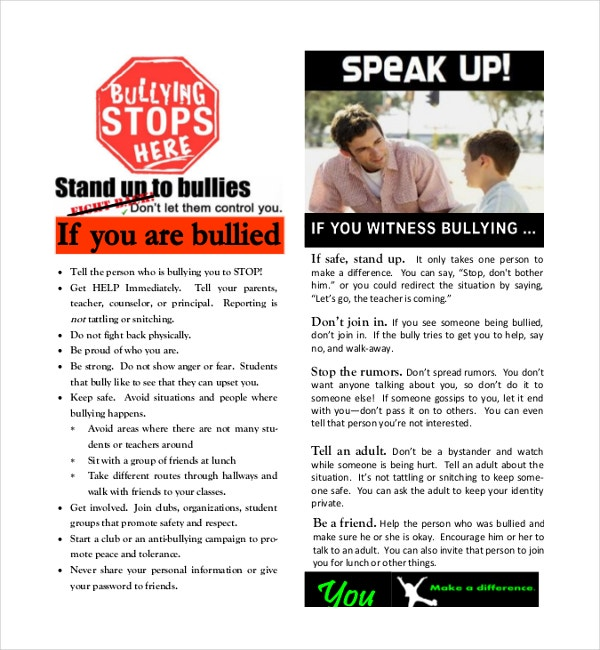Together We Stand Up Against Bullying