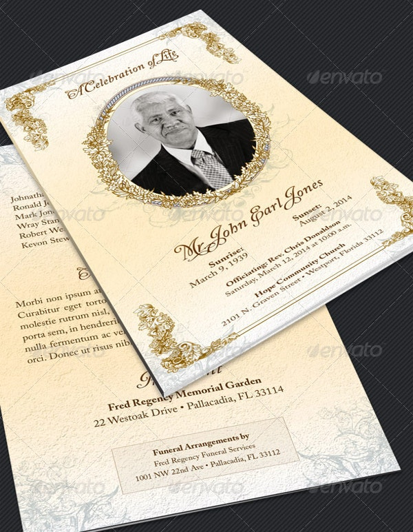 Publisher brochure template 14 free pdf psd ai for Free funeral program template microsoft publisher