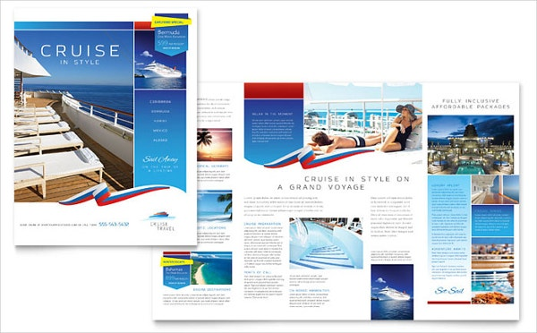 Vacation Brochure Template   Free Pdf Psd Ai Vector Eps