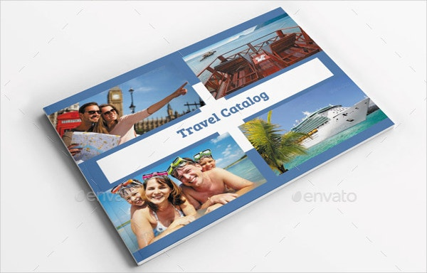 travel catalog brochure template