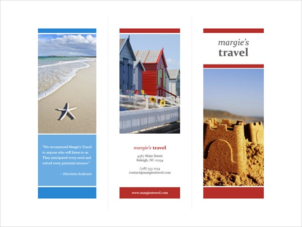 Vacation Brochure Template Free PDF PSD AI Vector EPS - Travel brochure templates for students