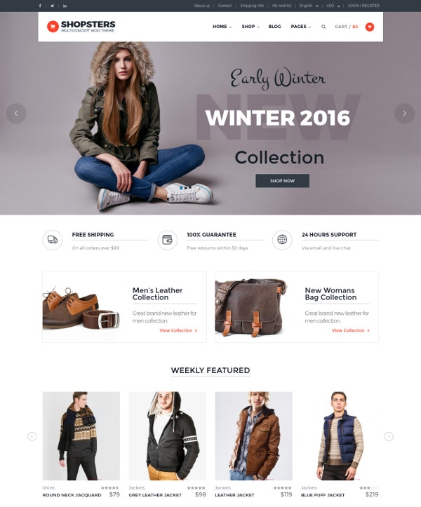 Multiconcept Ecommerce WordPress Theme