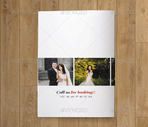 bifold wedding photography brochure v15