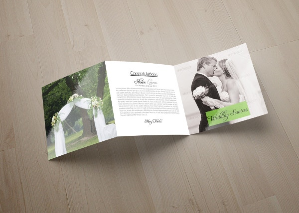 Wedding Tri Fold Brochure