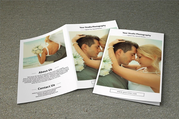 Wedding Photography Brochure-V442