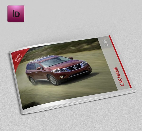 Car Catalog Brochure Template