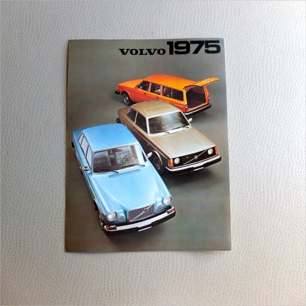 1975 volvo brochures