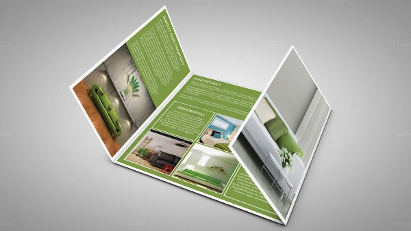 Awesome Gate Fold Interior Brochure V458
