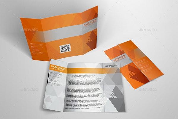 brochure mockup template - 15 gate fold brochure template pdf psd ai vector eps