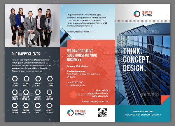 Tri-fold Creative Brochure Template Vol. 3