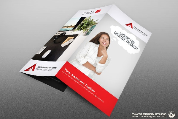Creative Brochure Trifold Template