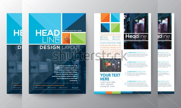 Shutterstock Vector Brochure