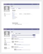 Facebook Powerpoint Templates