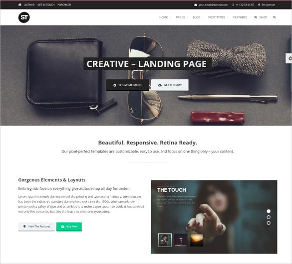 Social Media Multipurpose WordPress Website Theme $49