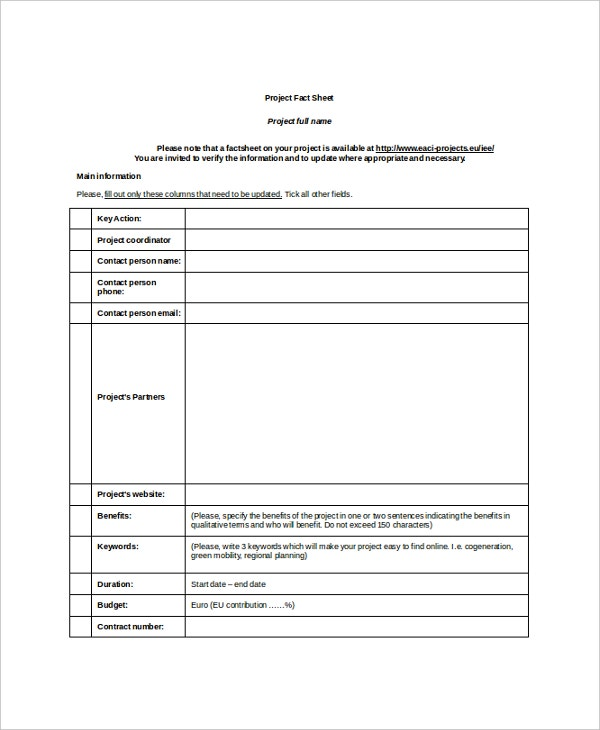 Sample Project Sheet Free Creative Brief Templates Smartsheet