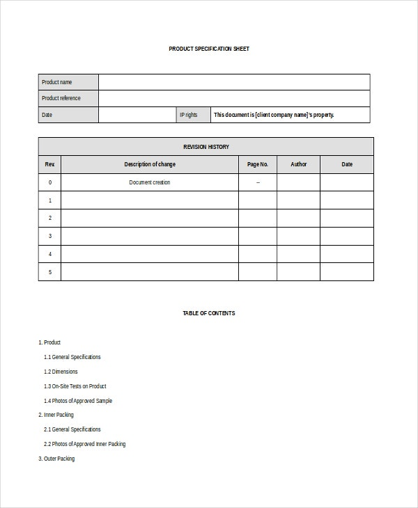 tender specification template - 33 sheet templates free sample example format free