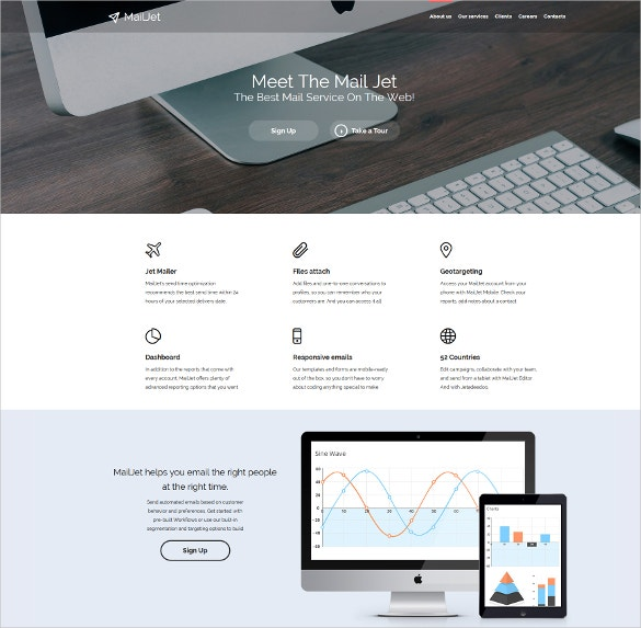 Digital Marketing Agency & Social Media Website Template $69