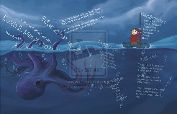 Ocean Creative Curriculum Vitae Design