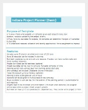Excel Project Plan Template Free Download