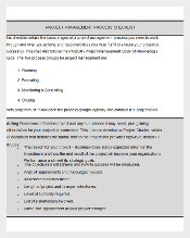 Word & PDF Formatted Project Planning Checklist Template