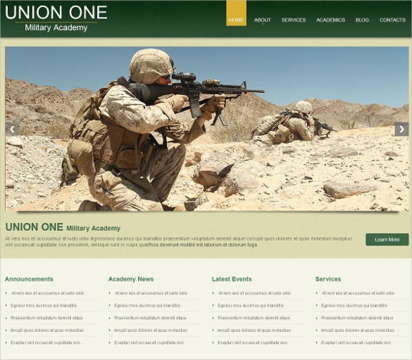 military school responsive wordpress website theme 75