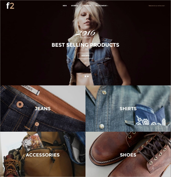 Fashion Boutique Magento HTML5 Theme.