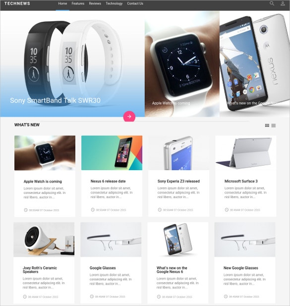 fashion style joomla website template 19