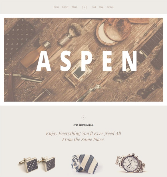 fashion elegant website template 50