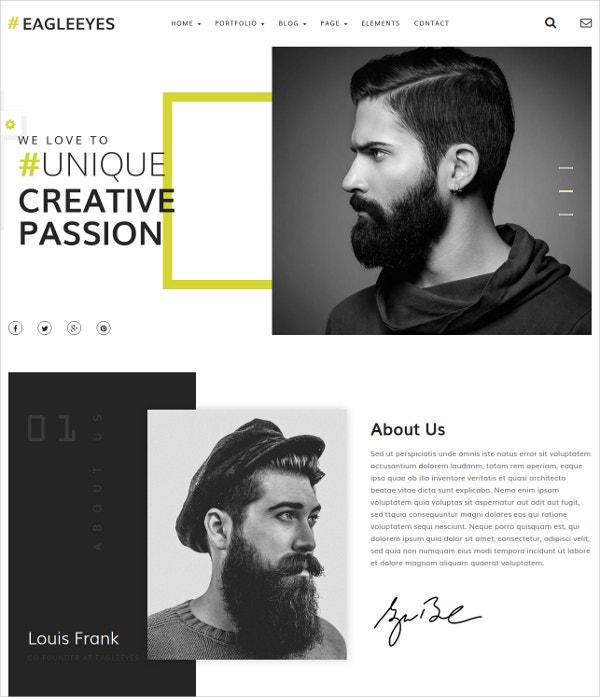 Creative Life Style HTML5 Template
