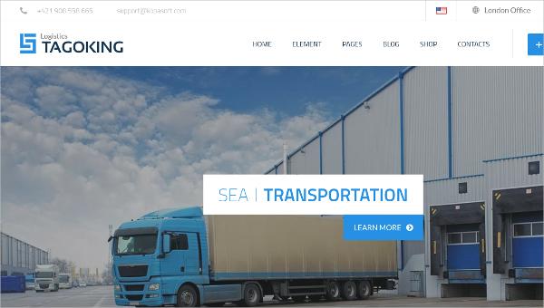 Freight & Logistics HTML5 Template