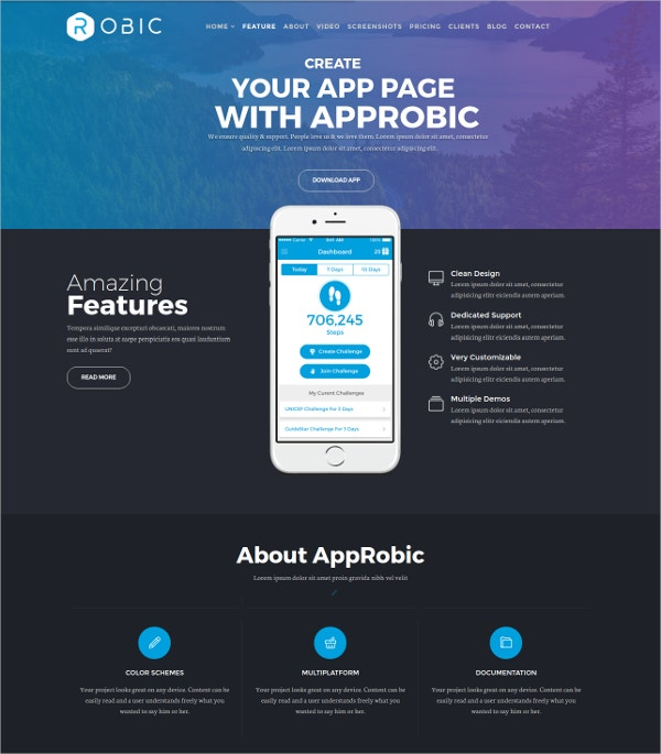 Multipurpose Landing Page Joomla HTML5 Template.