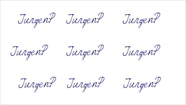 vLetter Jurgenp Font
