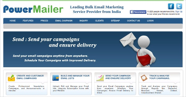 Power Mailer Bulk Email Marketing